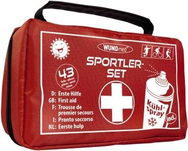WUNDmed Sportler-Set 43-teilig