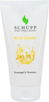 Schupp Showergel & Shampoo Active Shower 150 ml