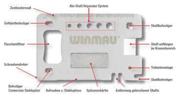 Winmau Multi-Tool Profi